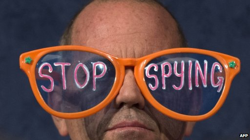 NSA protestor