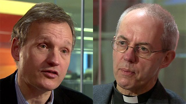 Anthony Jenkins & Archbishop Welby