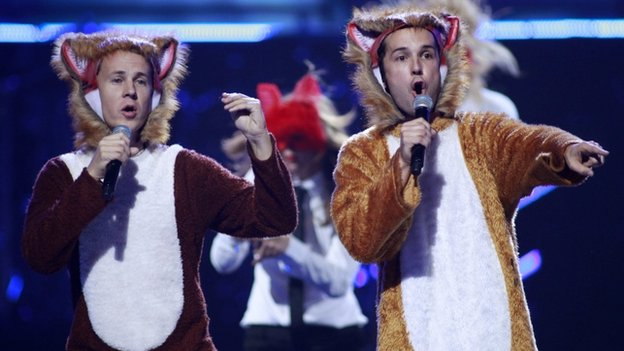Ylvis's The Fox
