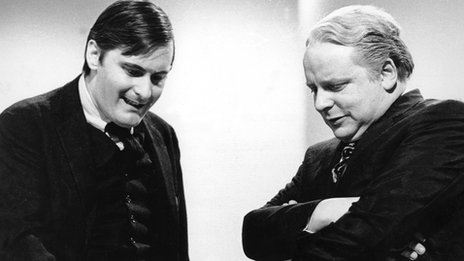 John Bird and John Fortune in 1965 show BBC3