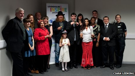 Ramona Constantin and other Levenshulme Awards winners
