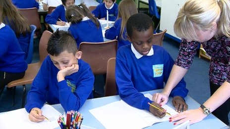 Children at Gorton Mount Primary