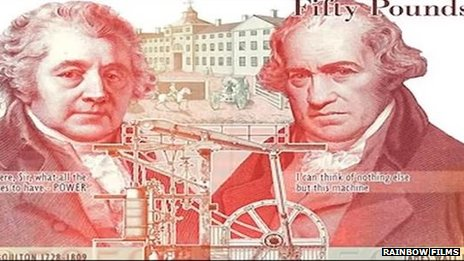 Matthew Boulton and James Watt
