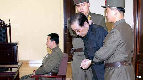 Chang Song-thaek at his trial