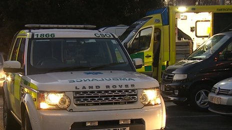 South Western ambulances