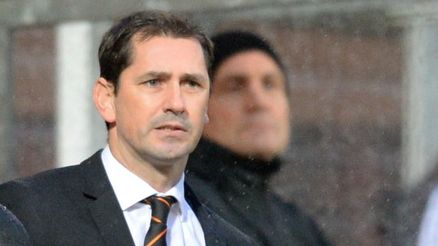 Interview - Dundee United manager Jackie McNamara