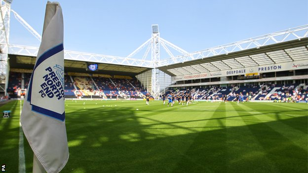 Deepdale, home of Preston North End