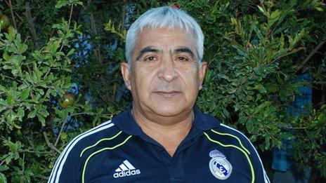 Omar Reygadas in December 2013