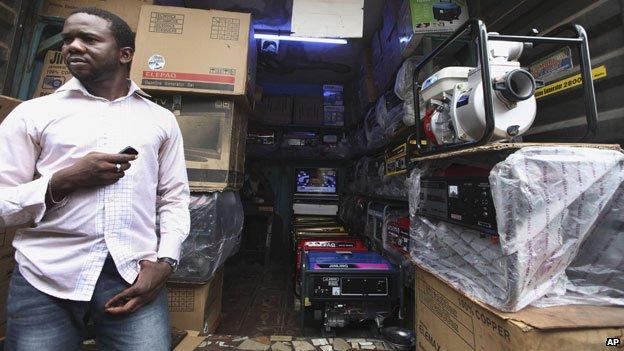 Generators on sale in Lagos