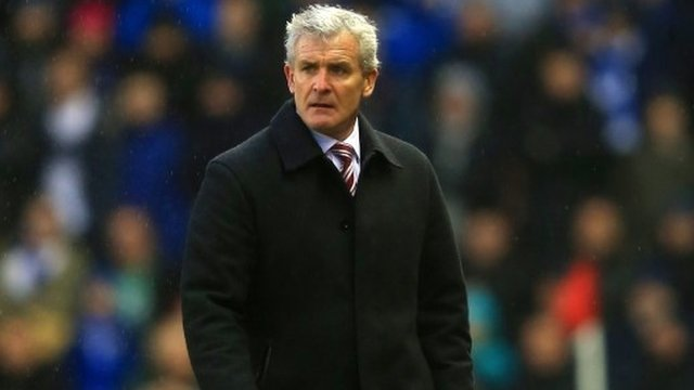 Stoke boss Mark Hughes