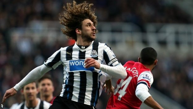 Newcastle United's Fabricio Coloccini