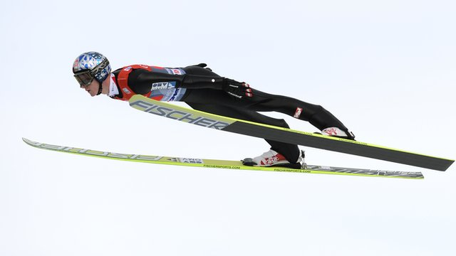 Austrian ski jumper Thomas Morgenstern