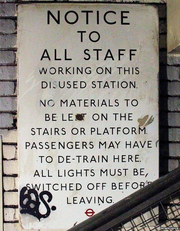 Staff notice