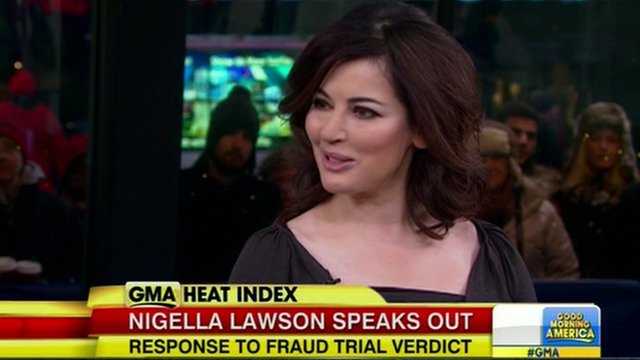 NIgella Lawson on GMA