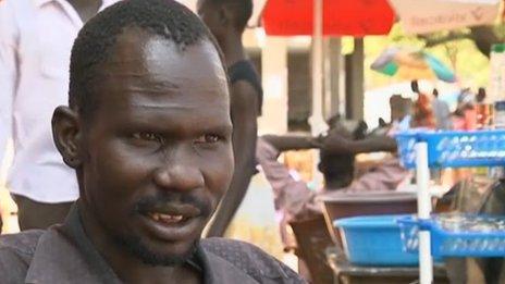 David in Juba