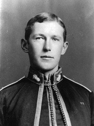 Portrait of Dr John McCrae
