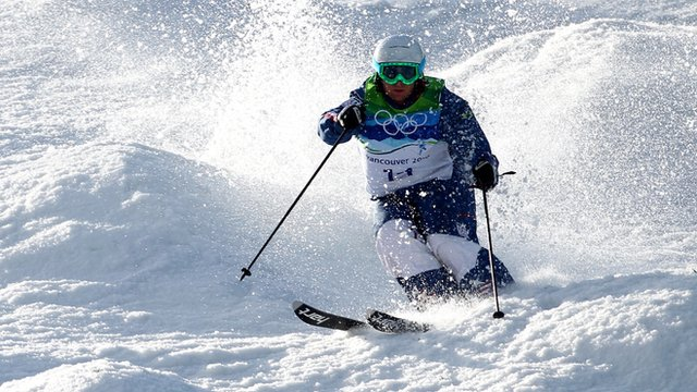 Watch BBC Sport's guide to freestyle skiing moguls ahead of the Sochi 2014 Winter Olympics.