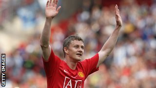 Ole Gunnar Solskjaer with United