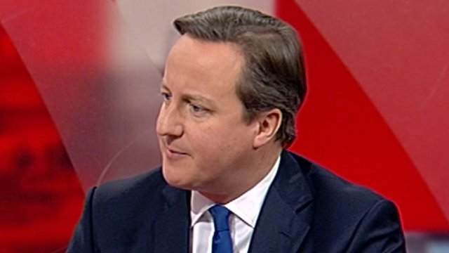 """David Cameron called power cuts over Christmas """"unacceptable"""""""