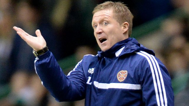 Interview - Hearts manager Gary Locke