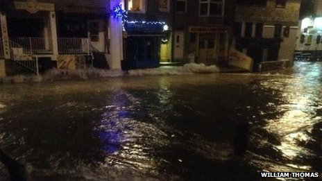 Flooding in St Ives