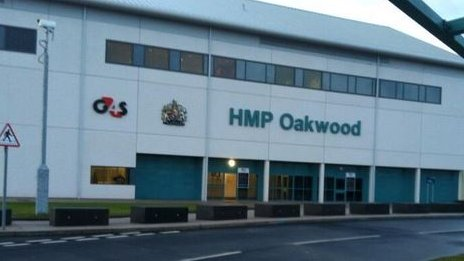 HMP Oakwood in Featherstone