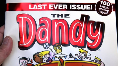 The Dandy last issue