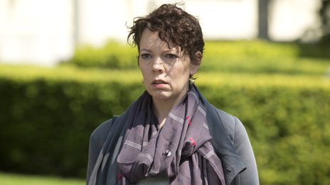 Olivia Colman in The 7.39