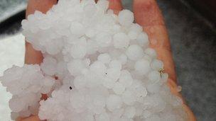 Hail stones