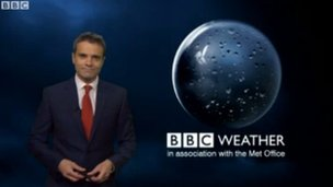 BBC Weather report