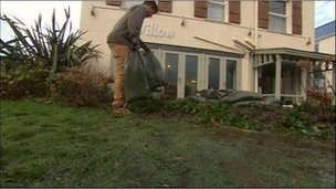 Clean up in Perranporth