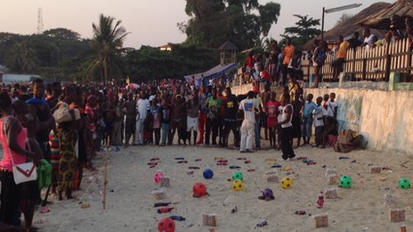 Beach Games at New Year