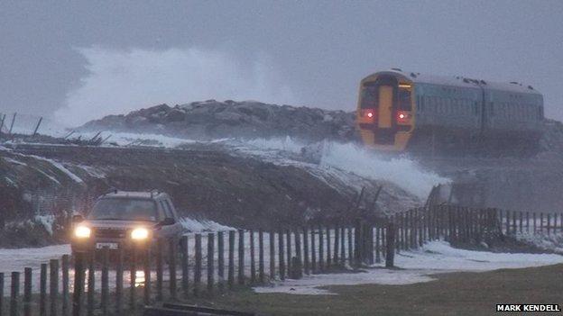 Train at Tywyn, Gwynedd (Pic: Mark Kendell)