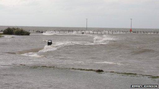 Millisle flooded