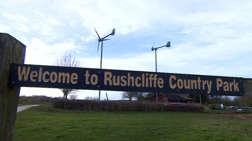 Rushcliffe Country Park turbines