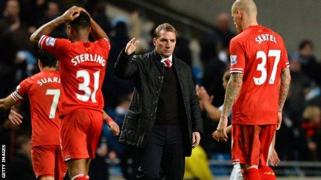 Liverpool Brendan Rodgers