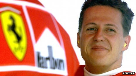 File photo of Michael Schumacher