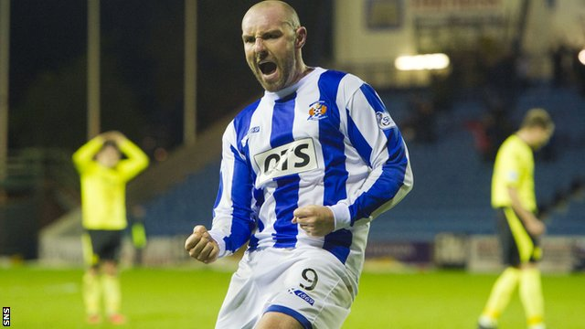 Barry Richmond says Killie have Kris Boyd to thank for saving them from a relegation scrap with Hearts