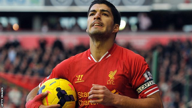 Luis Suarez would be the perfect foil for Steven Thompson, according to St Mirren supporter Dave MacDonald