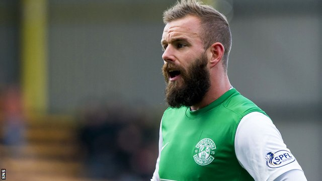 Hibs supporter Craig Chalmers wouldn't stand in the way of Rowan Vine, or his beard, if he was to leave Easter Road