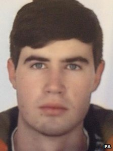 Undated handout photo issued by Devon and Cornwall Police of Harry Martin as an air, land and sea search is under way for the 18-year-old in South Devon
