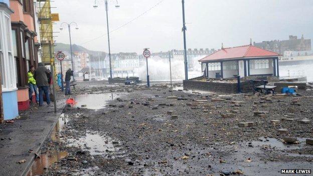 Aberystwyth seafront