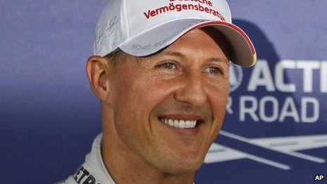 Michael Schumacher in 2012