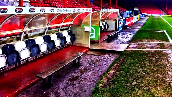 Grimsby dugouts