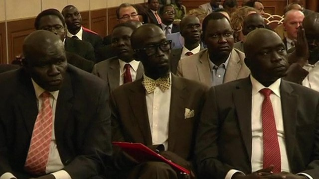 Members of delegation opposed to South Sudan's government