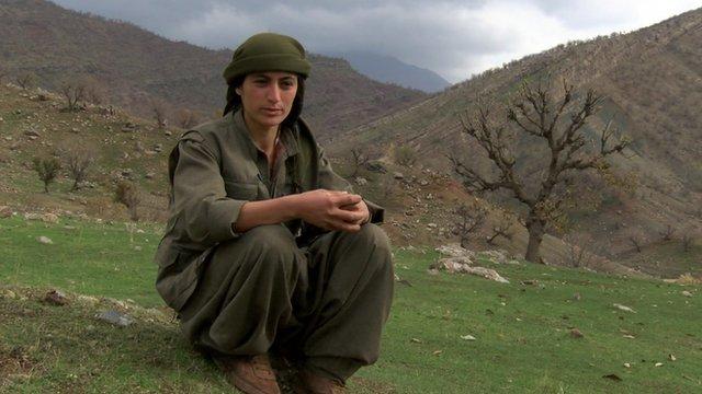 Female PKK commander