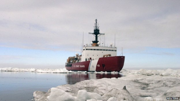 Polar Star, the US Coast Guard ice-breaker