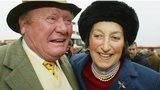 Terry Biddlecombe and Henrietta Knight