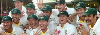 Australia celebrate Ashes triumph