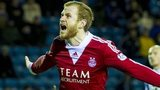 Mark Reynolds celebrates for Aberdeen